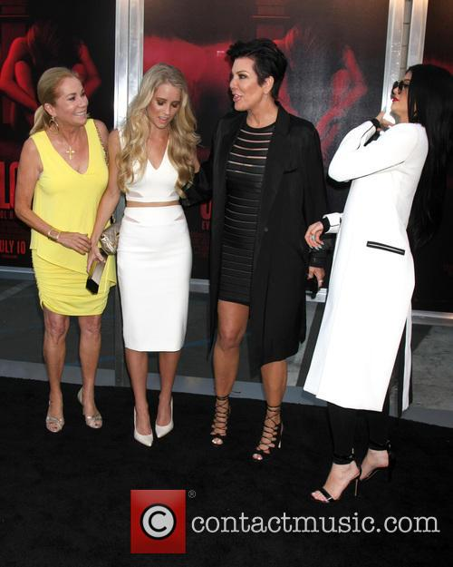 Kathie Lee Gifford, Cassidy Gifford, Kris Jenner and Kylie Jenner 1