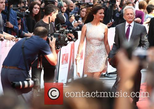 Catherine Zeta-jones and Michael Douglas 1