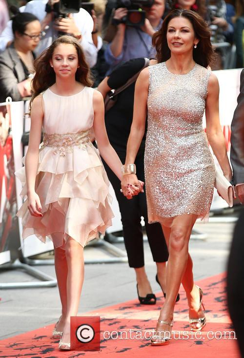 Catherine Zeta-jones and Carys Douglas 2