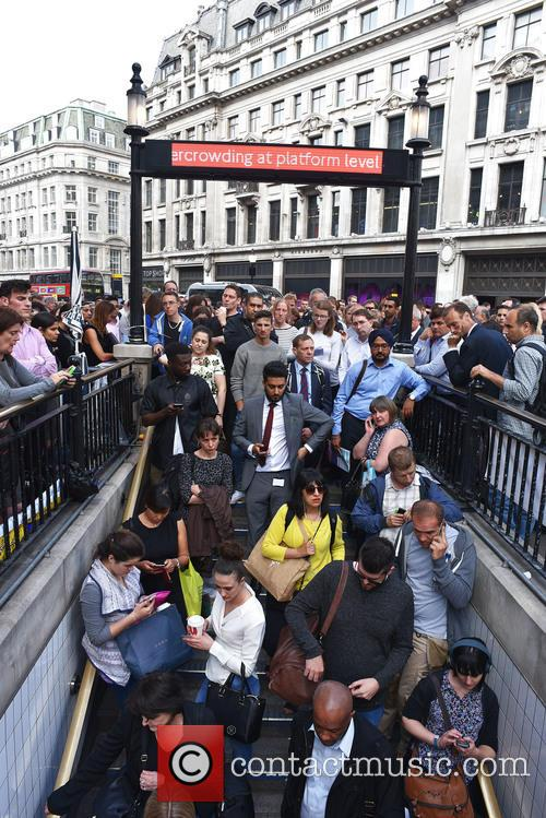 London Underground Tube Strike and Oxford Circus 2