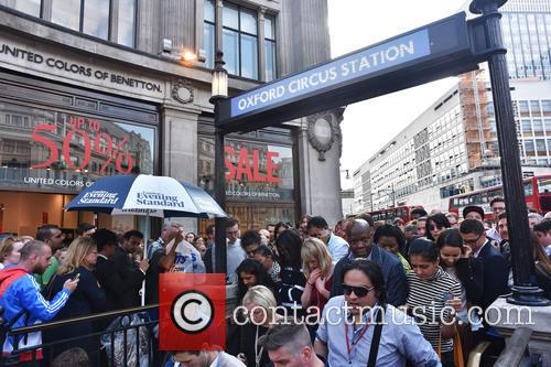 London Underground Tube Strike and Oxford Circus 3