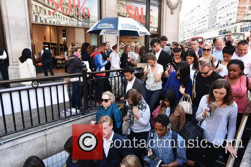London Underground Tube Strike and Oxford Circus 4