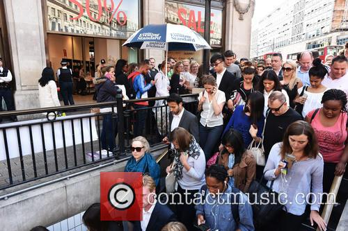 London Underground Tube Strike and Oxford Circus 5