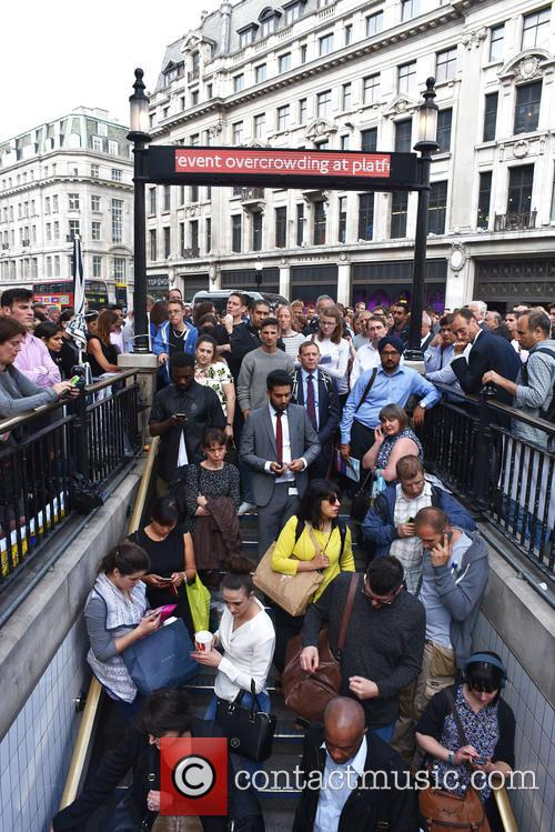 London Underground Tube Strike and Oxford Circus 9