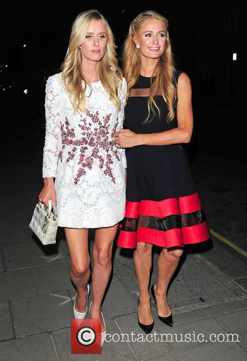 Nicky Hilton and Paris Hilton 1