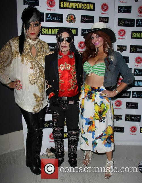 Sham Ibrahim, Michael Jackson Impersonator and Phoebe Price 2