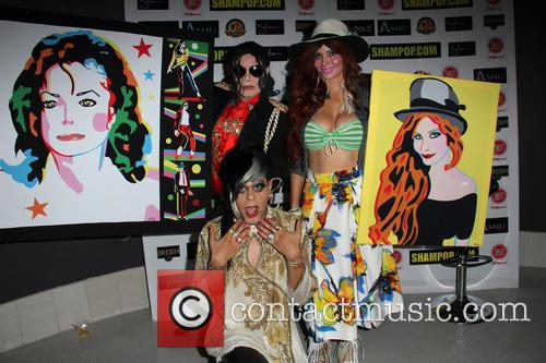 Michael Jackson Impersonator, Phoebe Price and Sham Ibrahim 2