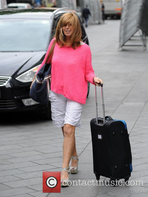 Kate Garraway arrives at Global Radio studios