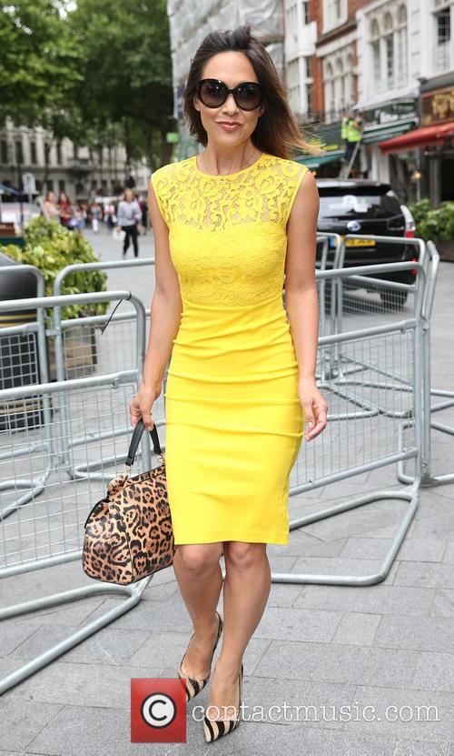 Myleene Klass leaving Global Radio studios