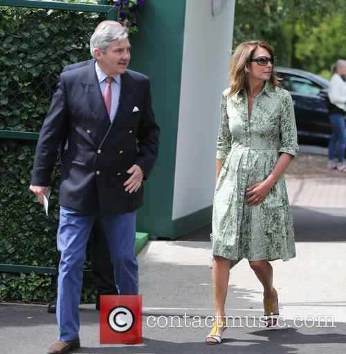 Wimbledon, Carole, Michael Middleton and Tennis 9