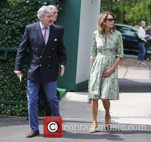 Wimbledon, Carole, Michael Middleton and Tennis 10