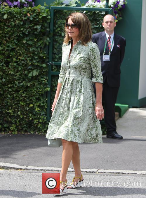 Wimbledon, Carole, Michael Middleton and Tennis 11