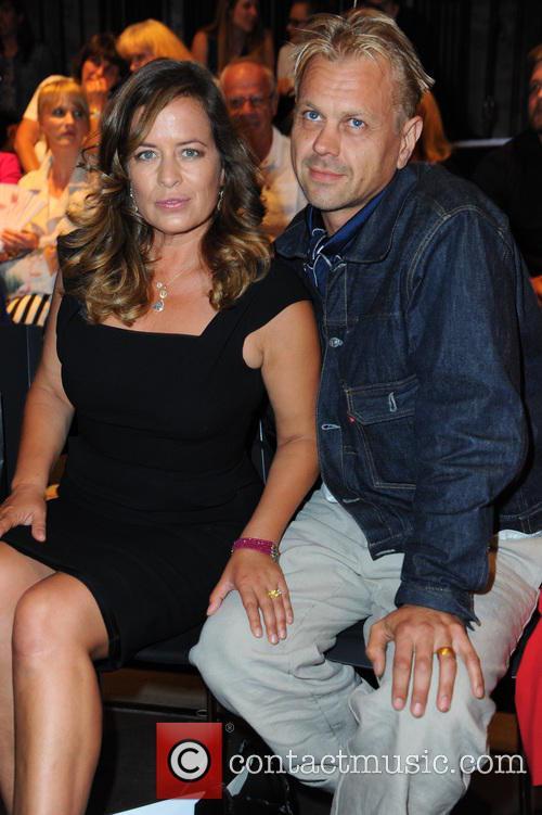 Jade Jagger and Adrian Fillary