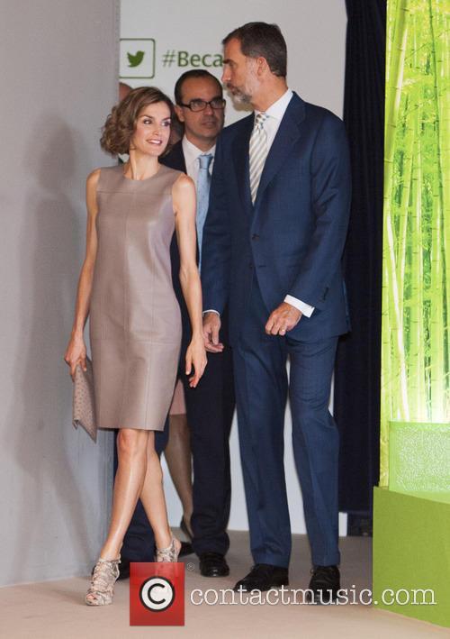 Spain's Queen Letizia and Spain's King Felipe Vi 10