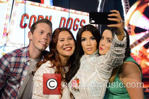 Madame Tussauds Reveals First 'Selfie Taking' Figure As...