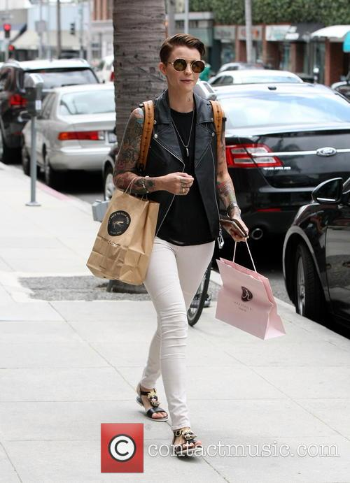 Ruby Rose at Anastasia in Beverly Hills