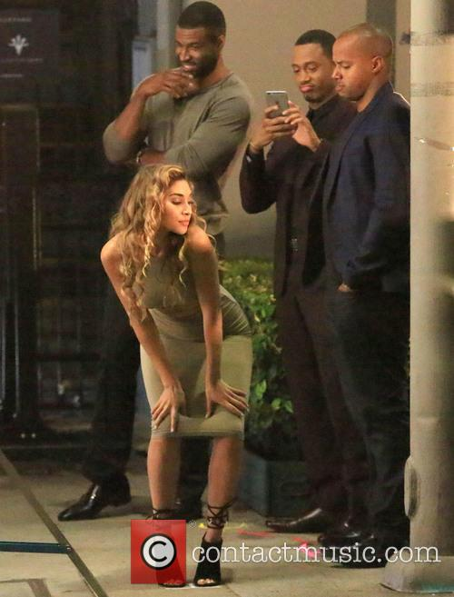 Chantel Jeffries, Terrence Jenkins and Donald Faison 7