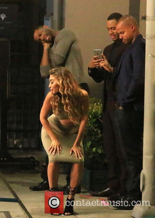 Chantel Jeffries, Terrence Jenkins and Donald Faison 8