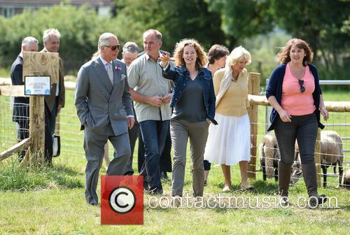 Atmosphere, Duchess Of Cornwall, Camilla, Prince Charles and Kate Humble 2