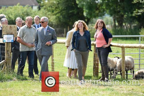 Atmosphere, Duchess Of Cornwall, Camilla, Prince Charles and Kate Humble 4