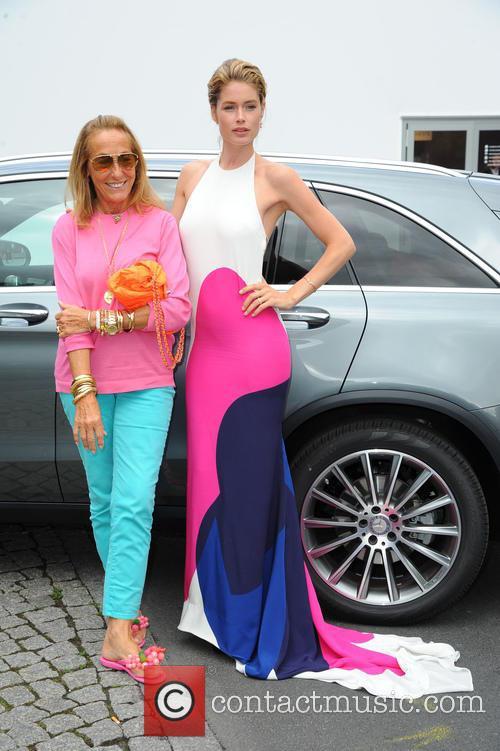 Carlyne Cerf De Dudzeele and Doutzen Kroes 2