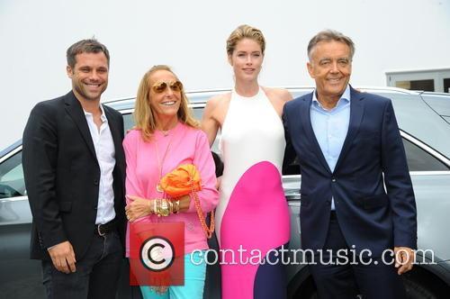 Ole Tillmann, Carlyne Cerf De Dudzeele, Doutzen Kroes and Bruno Saelzer 2