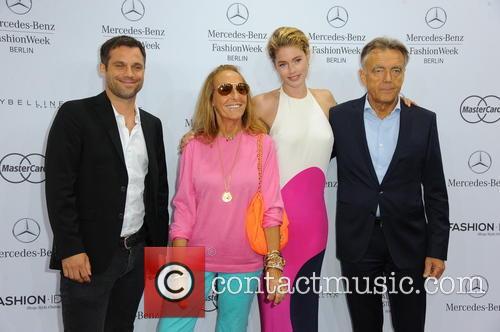 Ole Tillmann, Carlyne Cerf De Dudzeele, Doutzen Kroes and Bruno Saelzer 1