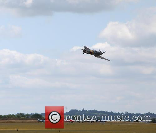 Prince William and Supermarine Spitfire Mk1 N3200 4