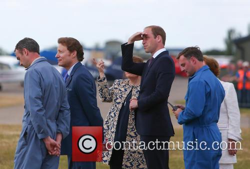 Prince William, Duke Of Cambridge and Thomas Kepler 6