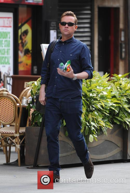 Stephen Mulhern out and about in London
