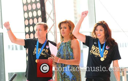 Hoda Kotb, Abby Wambach and Hope Solo 3