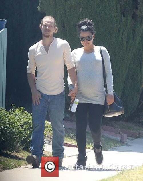 Naya Rivera and Ryan Dorsey 5