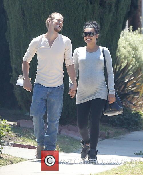Naya Rivera and Ryan Dorsey 7