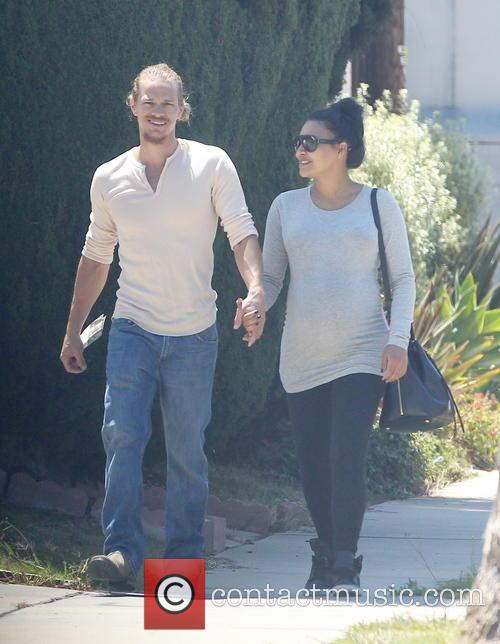 Naya Rivera and Ryan Dorsey 11