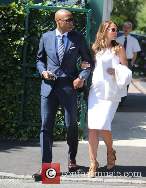 Thierry Henry and Andrea Rajacic 1