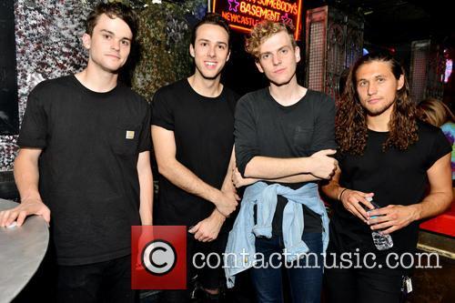 Zach Dyke, Ryan Winnen, Chase Lawrence and Joe Memmel