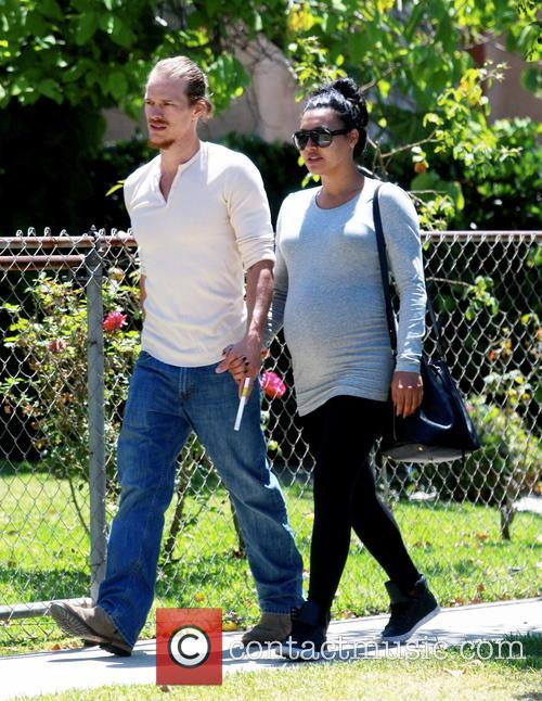 Naya Rivera and Ryan Dorsey 1
