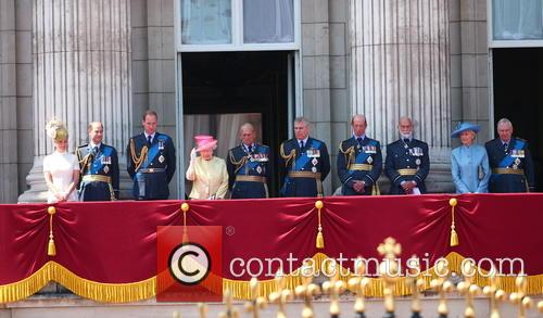 Sophie, Countess Of Wessex, Prince Edward, Earl Of Wessex, Prince William, Duke Of Cambridge, Queen Elizabeth Ii, Prince Philip, Duke Of Edinburgh, Prince Andrew, Duke Of York, Duke Of Kent, Prince Richard, Duke Of Gloucester and Princess Alexandra 4