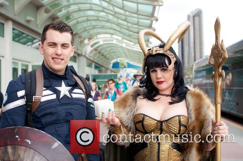 Captain America and Female Loki 6
