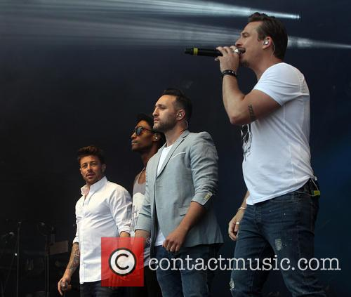 Blue, Lee Ryan, Duncan James, Simon Webbe and Antony Costa