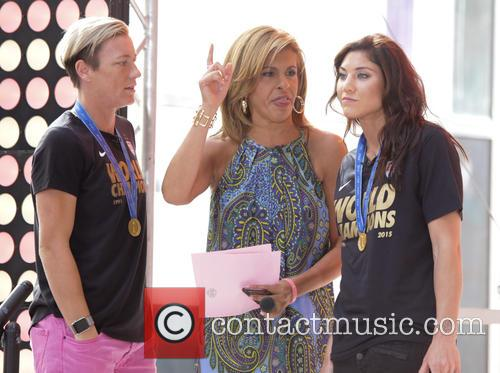Abby Wambach and Hope Solo 2