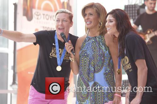 Abby Wambach and Hope Solo 4