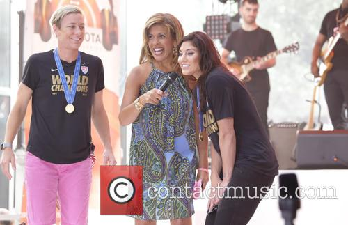 Abby Wambach and Hope Solo 5