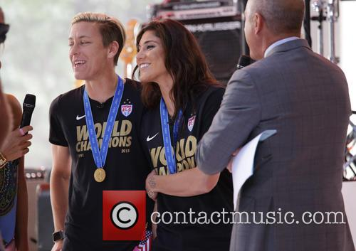 Abby Wambach and Hope Solo 7