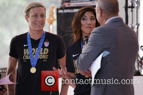 Abby Wambach and Hope Solo 8
