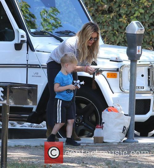 Hilary Duff and Luca Cruz Comrie 2