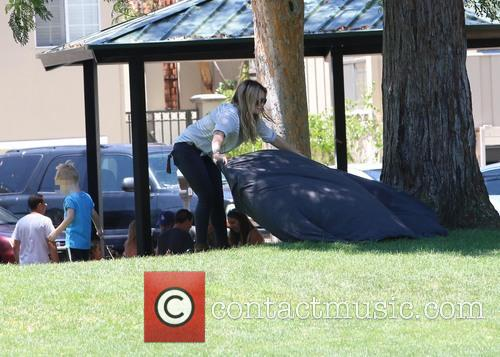 Hilary Duff and Luca Cruz Comrie 4