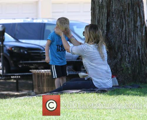 Hilary Duff and Luca Cruz Comrie 5