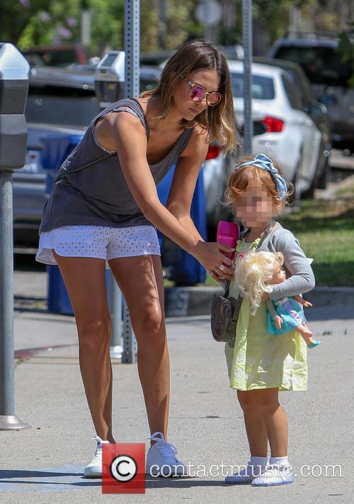 Jessica Alba and Cash Warren out and about...