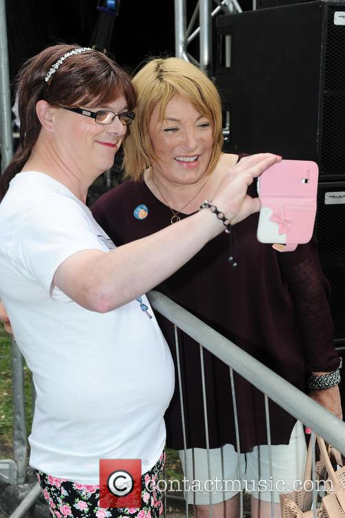Kellie Maloney attends Sparkle in Sackville Gardens